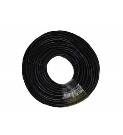 TOPTRADE hadice nivelační, pryžová, černá, 100 m 900544
