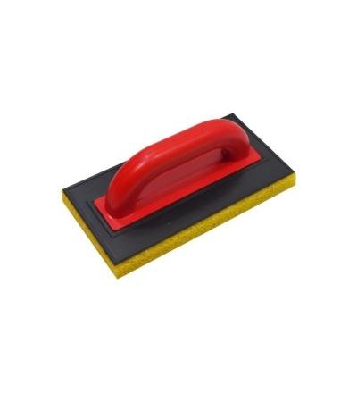 TOPTRADE hladítko ABS, molitan hrubý, řezaný, 250 x 130 x 20 mm 105677