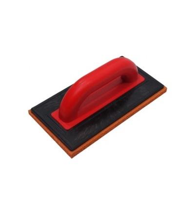 TOPTRADE hladítko ABS, platko 5 mm, houba jemná, 250 x 130 x 12 mm 106407