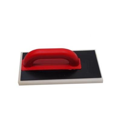 TOPTRADE hladítko ABS, posunuté, molitan jemný, 280 x 140 x 30 mm 106574