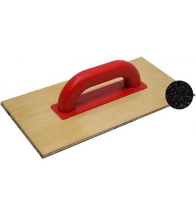 TOPTRADE hladítko brusné, na překližce, s papírem, 353 x 183 mm 106641