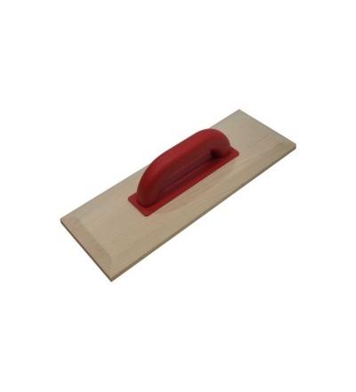 TOPTRADE hladítko dřevěné,  400 x 140 mm 105090
