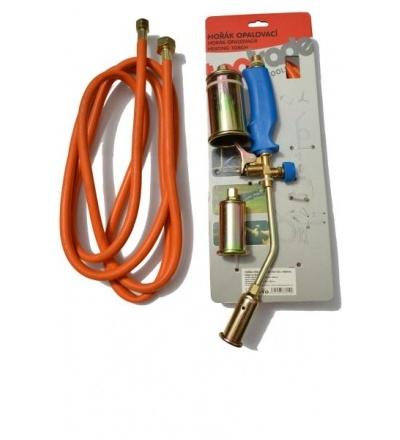 TOPTRADE hořák PB opalovací,hadice 3m,regulátor  tlaku,sada,směšovací komora O 30,40,50x450mm,profi 706010