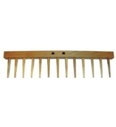 TOPTRADE hřeben náhradní, celodřevěný 108053