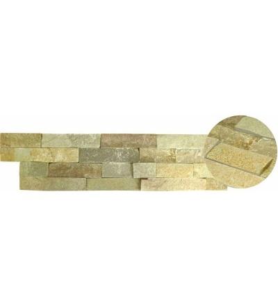 TOPTRADE kámen přírodní, surový, světle šedý, balení 0,63 m2, 150 x 600 x 15 -25 mm 902002