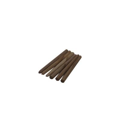 TOPTRADE kolík náhradní, dřevěný, pro hrábě 108055
