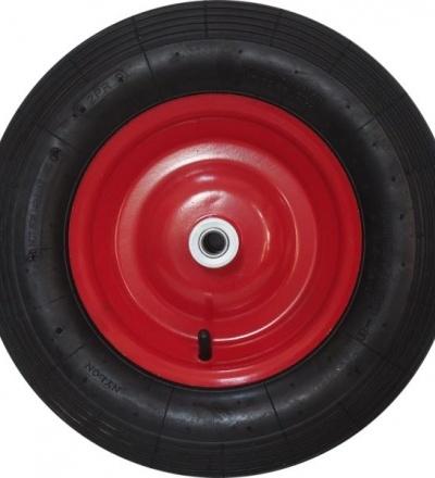 TOPTRADE kolo náhradní, nafukovací, červené 105603