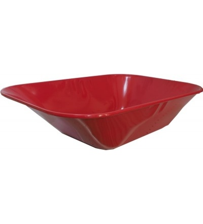 TOPTRADE korba náhradní, tažená, červená, 60 L 105605