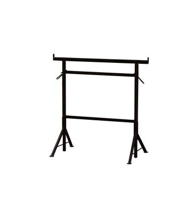 TOPTRADE koza stavební, výsuvná, odlehčená, skládací, otočné nohy,  š.1000 x v.1800 mm 600114