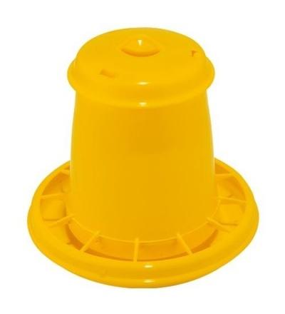 TOPTRADE krmítko plastové, tubusové, pro drůbež, 2,25l 308072