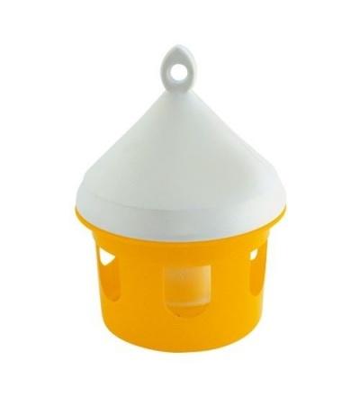 TOPTRADE krmítko plastové, závěsné, pro ptactvo, 3l 308090