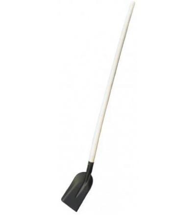 TOPTRADE lopata ocelová, úzká, černý lak 105326