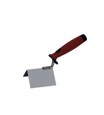 TOPTRADE lžíce nerezová, štukatérská, rohová, 60 x 60 mm 106062