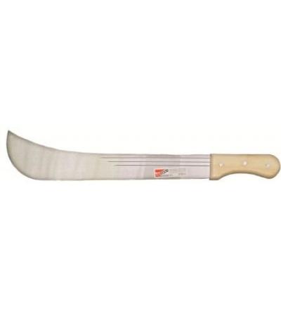 """TOPTRADE mačeta ocelová, s dřevěnou rukojetí, 16"""" čepel, 500 mm 309170"""