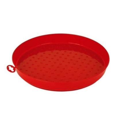 TOPTRADE miska plastová, krmící, hrabací, pro kuřata, 300 mm 308041