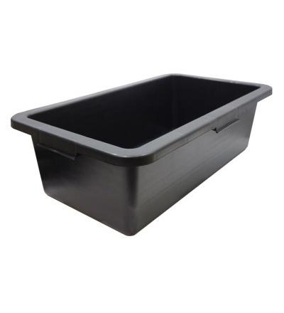 TOPTRADE nádoba stavební, plastová, obdélníková, 45 l 105188