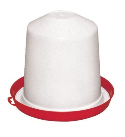 TOPTRADE napáječka plastová, překlopná, pro drůbež, 10l 308047