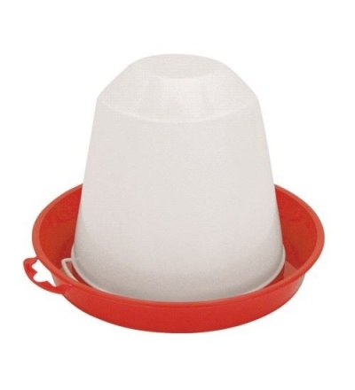 TOPTRADE napáječka plastová, překlopná, pro kuřata, kachňata, 1,5l 308044