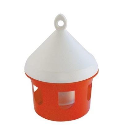 TOPTRADE napáječka plastová, závěsná, pro ptactvo, 3l 308087