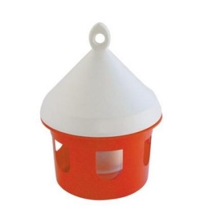 TOPTRADE napáječka plastová, závěsná, pro ptactvo, 5l 308088
