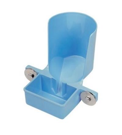 TOPTRADE napáječka univerzální, plastová, pro ptactvo, drůbež, pro láhev do 1,5l 308101