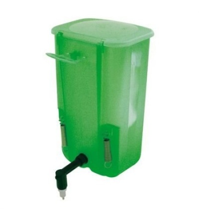 TOPTRADE napáječka závěsná, univerzální, plastová, úhel trysky 90°, 0,5l 308036