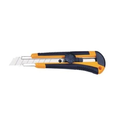 TOPTRADE nůž odlamovací, plastový, 18 mm, P-20 200210