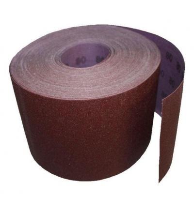 TOPTRADE papír brusný, zrnitost 40, 150 mm x 50 m 501540