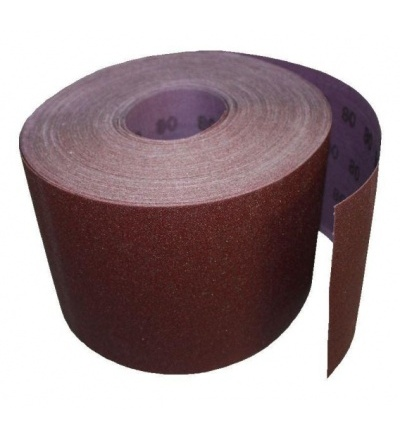 TOPTRADE papír brusný, zrnitost 60, 150 mm x 50 m 501541
