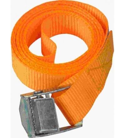 TOPTRADE pás upínací, s přezkou, do 250 kg,  25 mm x 1,8 m 405138