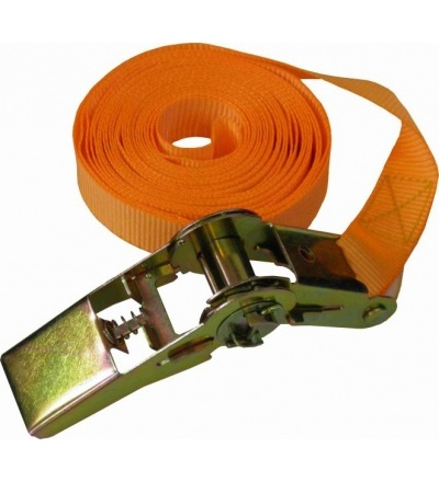 TOPTRADE pás upínací, s ráčnou, do 500 kg,  25 mm x 5 m 405131