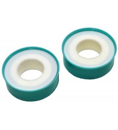 TOPTRADE páska teflonová, na plastové cívce, balení 2 ks,  0,075 x 12 mm / 10 m 701421