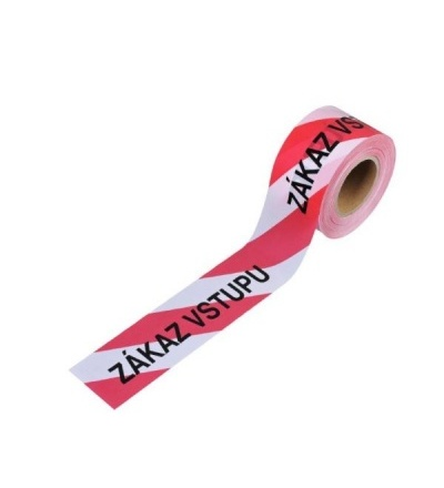 TOPTRADE páska výstražná, nelepící,