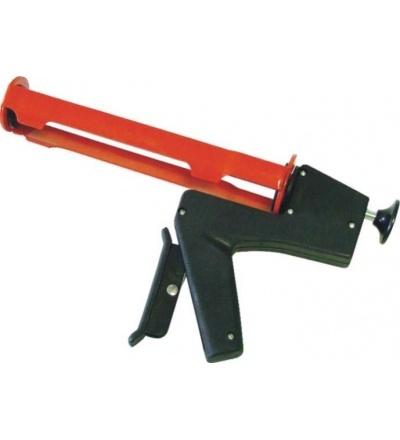 TOPTRADE pistole vytlačovací, samouvolňovací, 310 ml, profi 300110