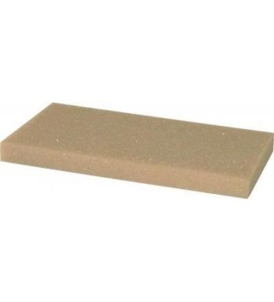 TOPTRADE povrch náhradní, molitan jemný, řezaný,  250 x 130 x 30 mm 105475
