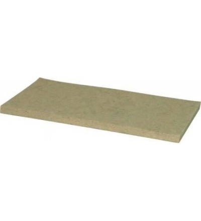 TOPTRADE povrch náhradní, plst bílá, 250 x 130 x 8 mm 105473