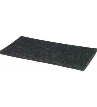 TOPTRADE povrch náhradní, plsť hnědá,  200 x 105 x 8 mm 105215