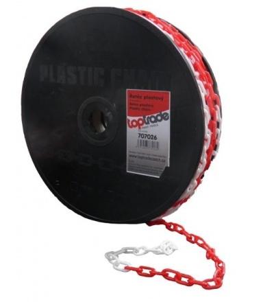 TOPTRADE řetěz plastový, na cívce, 3 mm x 50m 707026
