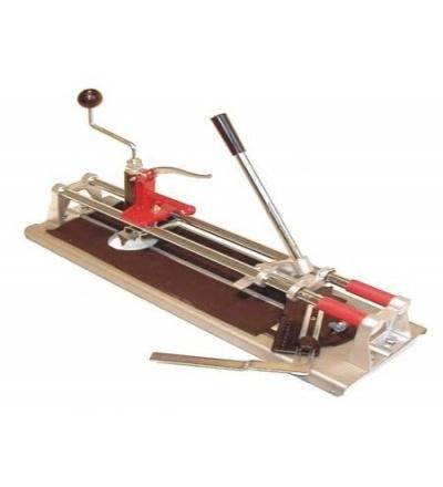 TOPTRADE řezačka na obklady ECONOMIC, s lámačkou, úhelníkem a vykružovákem, 350 mm 602032