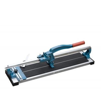 TOPTRADE řezačka na obklady, s lámačkou a úhelníkem, profi, 600 mm 602040