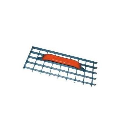 TOPTRADE škrabák omítek, ocelový, mřížový, 290 x 150 mm 106077
