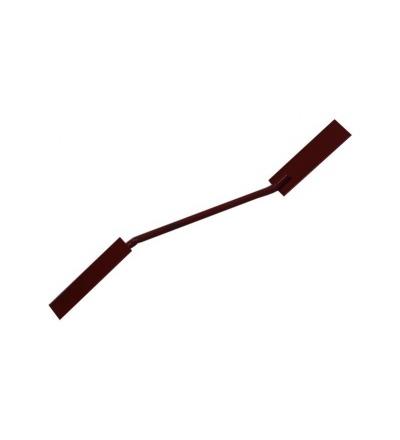 TOPTRADE spárovačka oboustranná, červená, 20/14 mm 105184