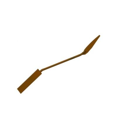 TOPTRADE spárovačka, vymazávačka, slza žlutá, 17/10 mm 105179
