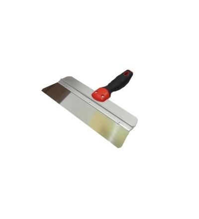 TOPTRADE stěrka nerezová, kulaté rohy, 300mm 106346