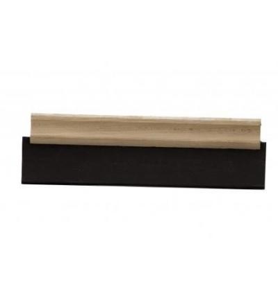 TOPTRADE stěrka, pryž tvrdá, 200  mm 106040
