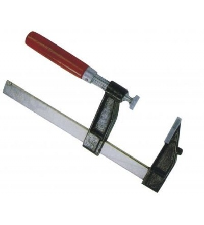 TOPTRADE svěrka truhlářská, kovová, 120 x 500 mm 603005