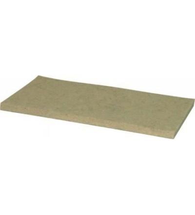 TOPTRADE tabule, plsť bílá, 1080 x 1080 x 8 mm 105231