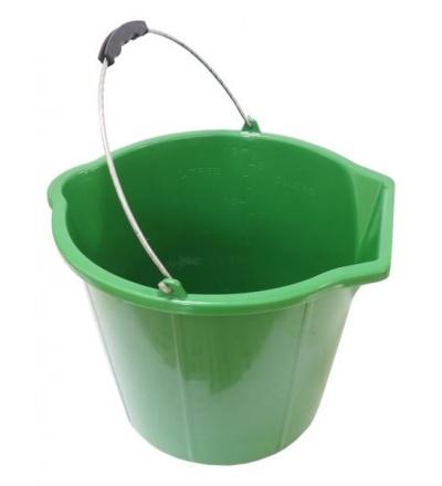 TOPTRADE vědro zednické, plastové, na sypké hmoty, 15 L 105297