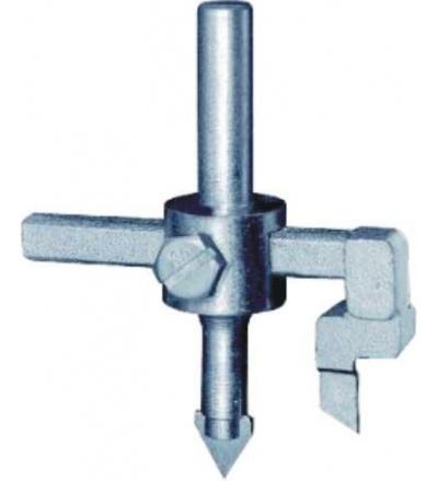 TOPTRADE vykružovák na obklady, stavitelný, O do 90 mm 106095