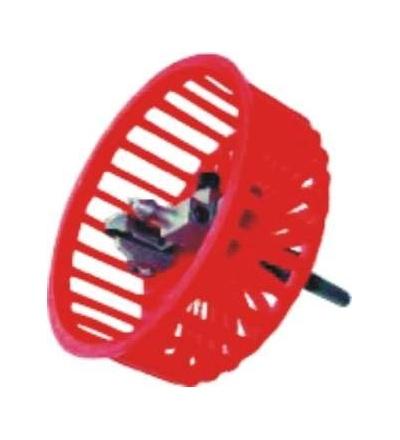 TOPTRADE vykružovák na obklady, stavitelný, s  plastovou ochranou, O do 90 mm 106096
